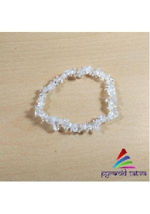 Clear Quartz Chip Bracelet