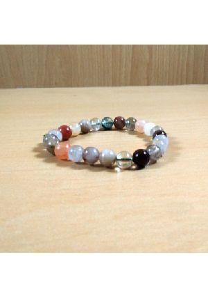 Crystal Phantom Beads Bracelet