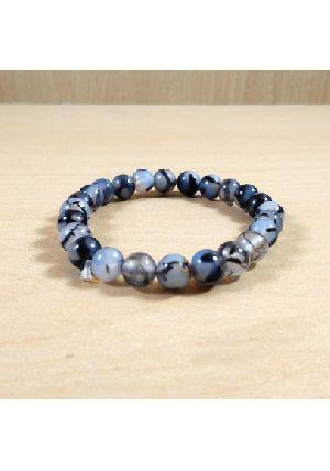Dragon Agate Beads Bracelet