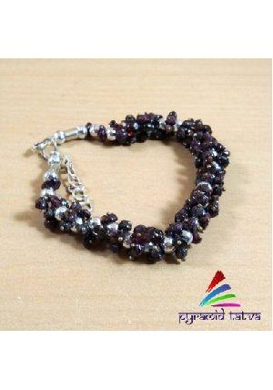 Garnet Uncut Bracelet