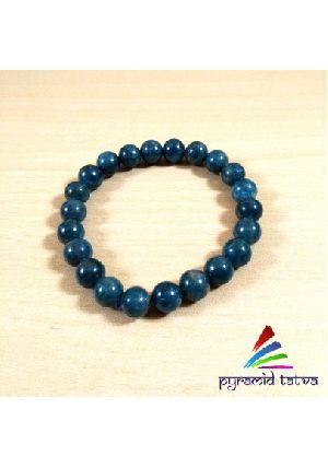 Green Apatite Bead Bracelet