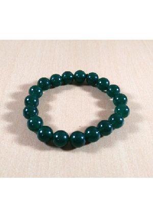Green Jade Beads Bracelet