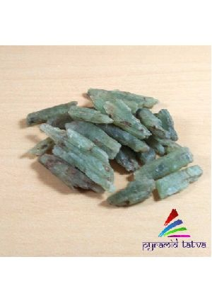 Green Kyanite Raw Blades