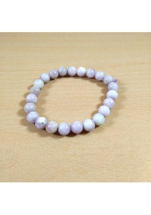 Kunzite Beads Bracelet
