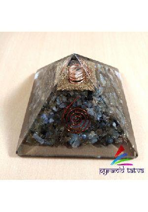 Labradorite Orgonite Pyramid