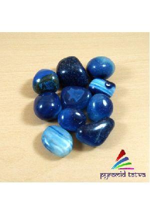 Lapis Lazuli Onyx Tumbled Stone
