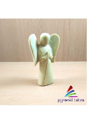 Lemon Jade Gemstone Angel