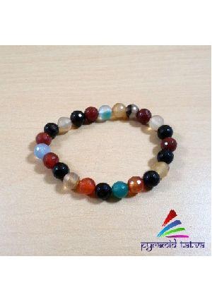 Mix Crystal Bead Bracelet