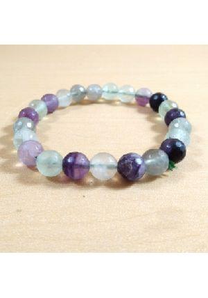 Multi Fluorite Beads Bracelet
