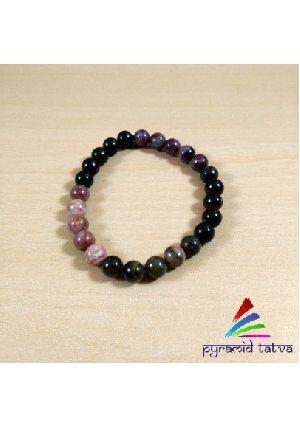 Multi Tourmaline Bead Bracelet