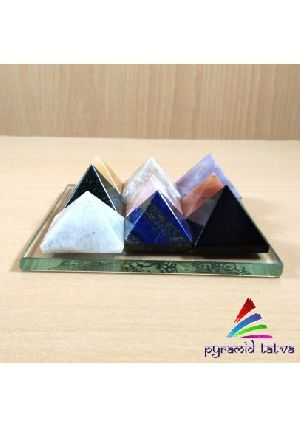 Nine Chakra Pyramid Plate