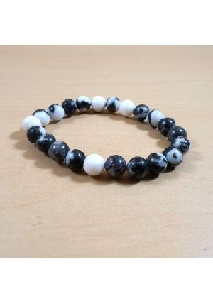 Rainbow Moonstone Beads Bracelet