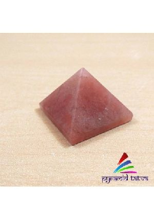 Red Aventurine pyramid