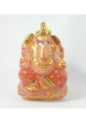 Rose Quartz Ganesh 175 Gm
