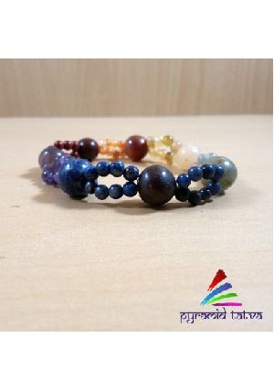 Seven Chakra Bead Bracelet 1