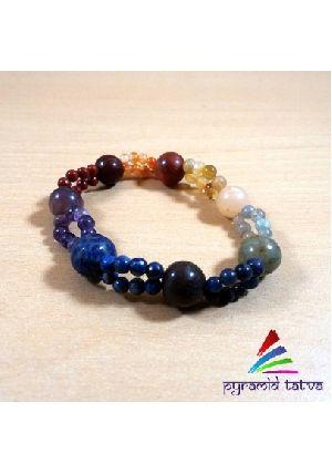 Seven Chakra Bead Bracelet