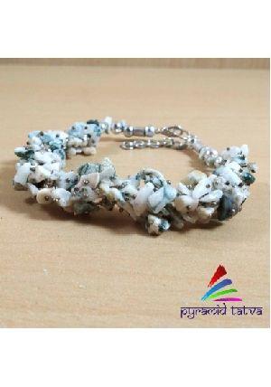 Tree Agate Uncut Bracelet