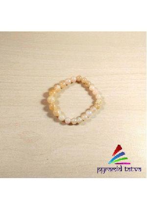 Yellow Aventurine Bead Bracelet