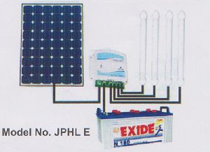 Solar Charge Controller with four Tubes