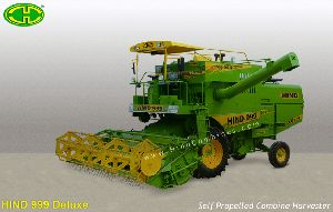 Multicrop Self Propelled Combine Harvester