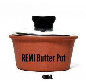Remi Clay Butter Pot