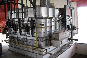 Lpg Fired Continuous Melting Furnace