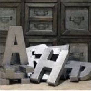 Galvanized Letters