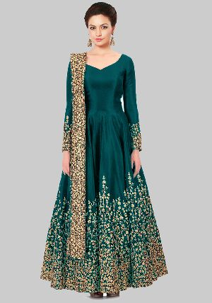 Exotic Embroidered Anarkali Suit At Yoyo Fashion