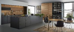 Lacquer Finish Kitchen Cabinet
