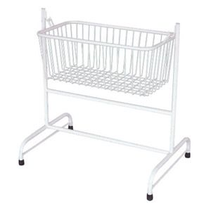 Stainless Steel Hospital Baby Crib