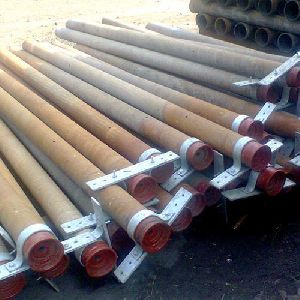 Cast Iron Electrode Pipe With Clamp