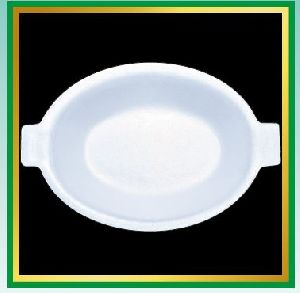 Oval Disposable Plates