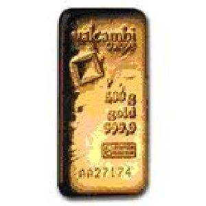 Minted Gold Bar