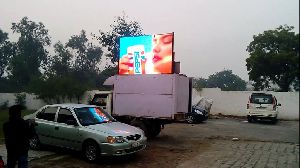 Hydraulic Led Video Van Rent Services