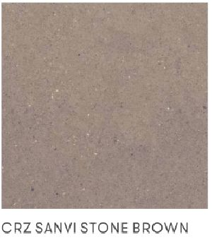 Vitrified Tile Sanvi Stone Brown