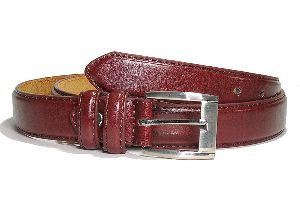 54 Inch Mens Brown Leather Belt