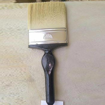 125mm A-1 White Wooden Handle Wall Paint Brush