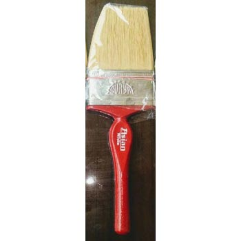75mm Asian White Wooden Handle Wall Paint Brush