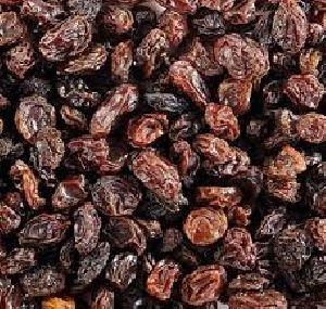 Natural seedless raisins