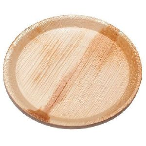 12 Inch Disposable Round Areca Plates