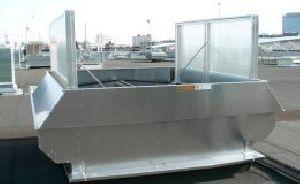 natural flap roof ventilator