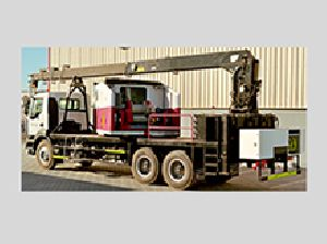 Combilift Side Loader Truck