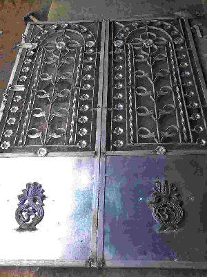 Galvanized Iron Main Gates