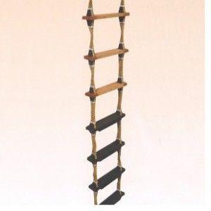Pilot/embarkation Wooden Step Ladder