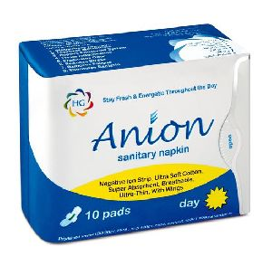 Hg Anion Sanitary Napkin