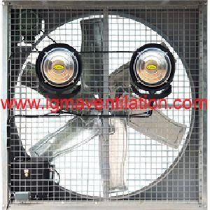 Heavy Duty Low Noise Axial Blower Mist Fan