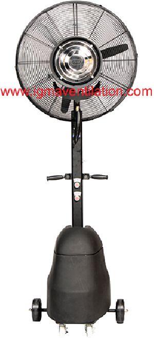 Heavy Duty Pedestal Mist Fan