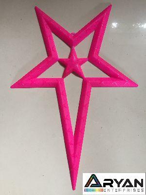 CHRISTMAS STAR - PINK