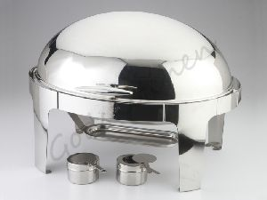 Oval Roll Top Chafing Dish