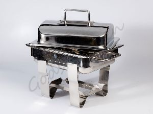 Square Lift Top Chafing Dish